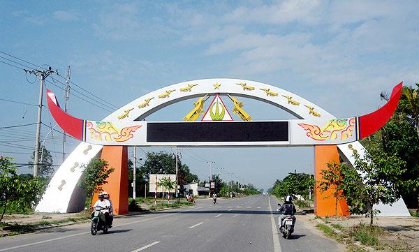 Cổng chào thành phố