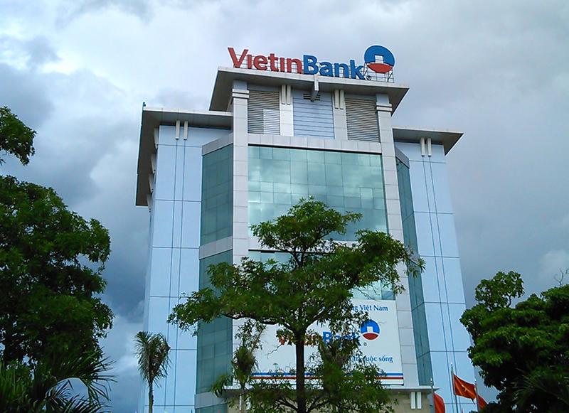 Bộ chữ gắn LED ngân hàng công thương Viêt Nam, vietinbank