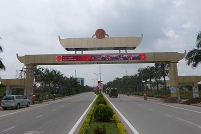 Thi Công Cổng Chào Thành Phố Bắc Ninh