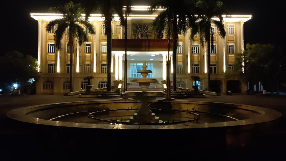 Trang trí tòa nhà Huyện ủy và UBND huyện Yên Lạc, Vĩnh Phúc